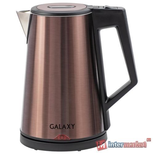 Чайник Galaxy GL0320, бронзовый
