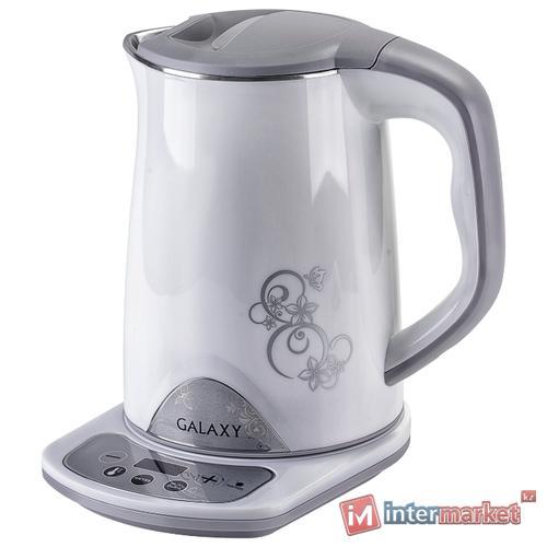 Чайник Galaxy GL0340, белый