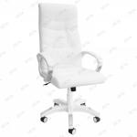 Кресло для офиса Zeta Элегант эко-кожа черный, белый