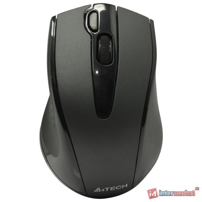 Беспроводная мышь A4Tech G9-500F, Wireless Optical, 1000dpi, Black, USB, 1 x AA
