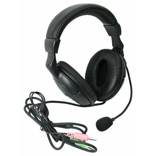 Наушники-гарнитура проводные Defender Orpheus HN-898 черный, кабель 3 м