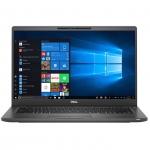 Ноутбук Dell Latitude 7400 (Core i5/8265U/1,6 GHz/8 Gb/256 Gb/No ODD/Graphics/UHD 620/256 Mb/14 ''/1920x1080/Windows 10/Pro/64/черный)