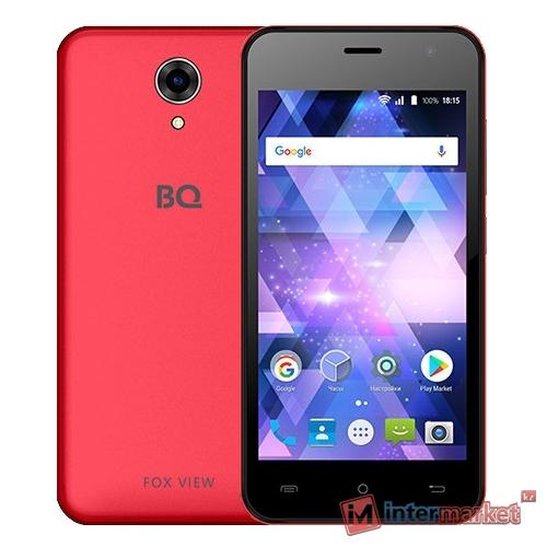 Смартфон BQ 4585 Fox View Red (красный)