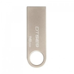 USB Флеш 16GB 2.0 Kingston DTSE9H/16GB металл